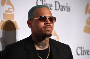 El rapero Chris Brown.