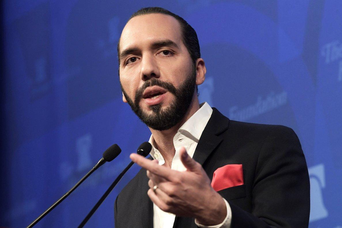 El presidente electo de El Salvador,Nayib Bukele.