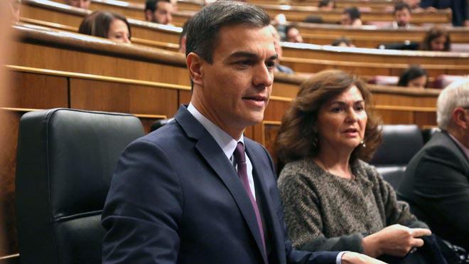 """Sánchez, a Rivera: """"Fa olor de la naftalina de la ultradreta"""""""