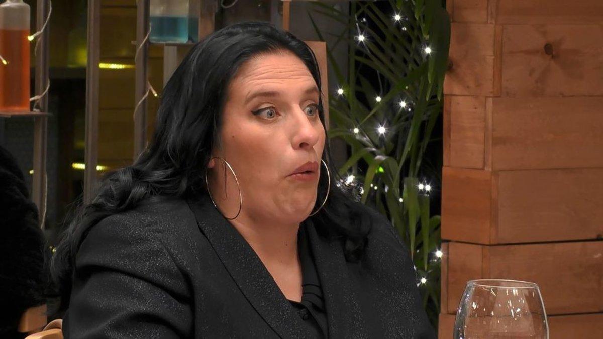 Sandra en 'First Dates'.