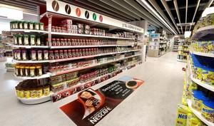La sede central de Nestlé en Esplugues abre al público general su tienda para empleados