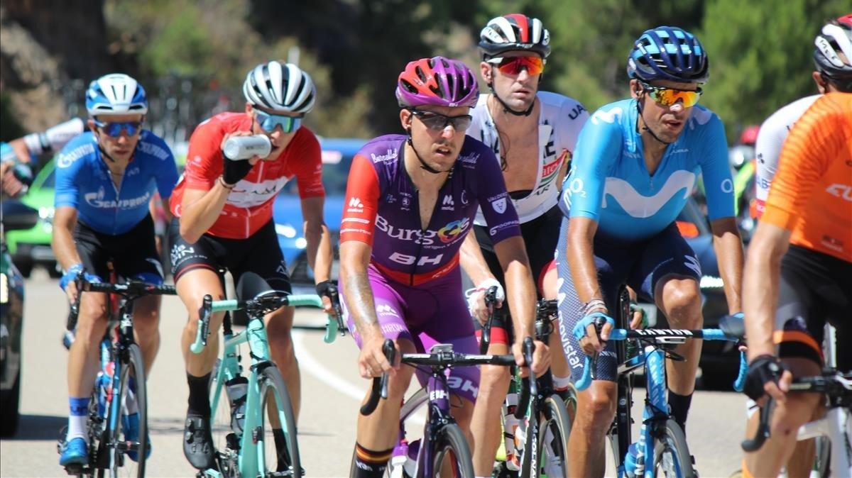 Imagen de la Vuelta a Burgos, en su edición del 2019.
