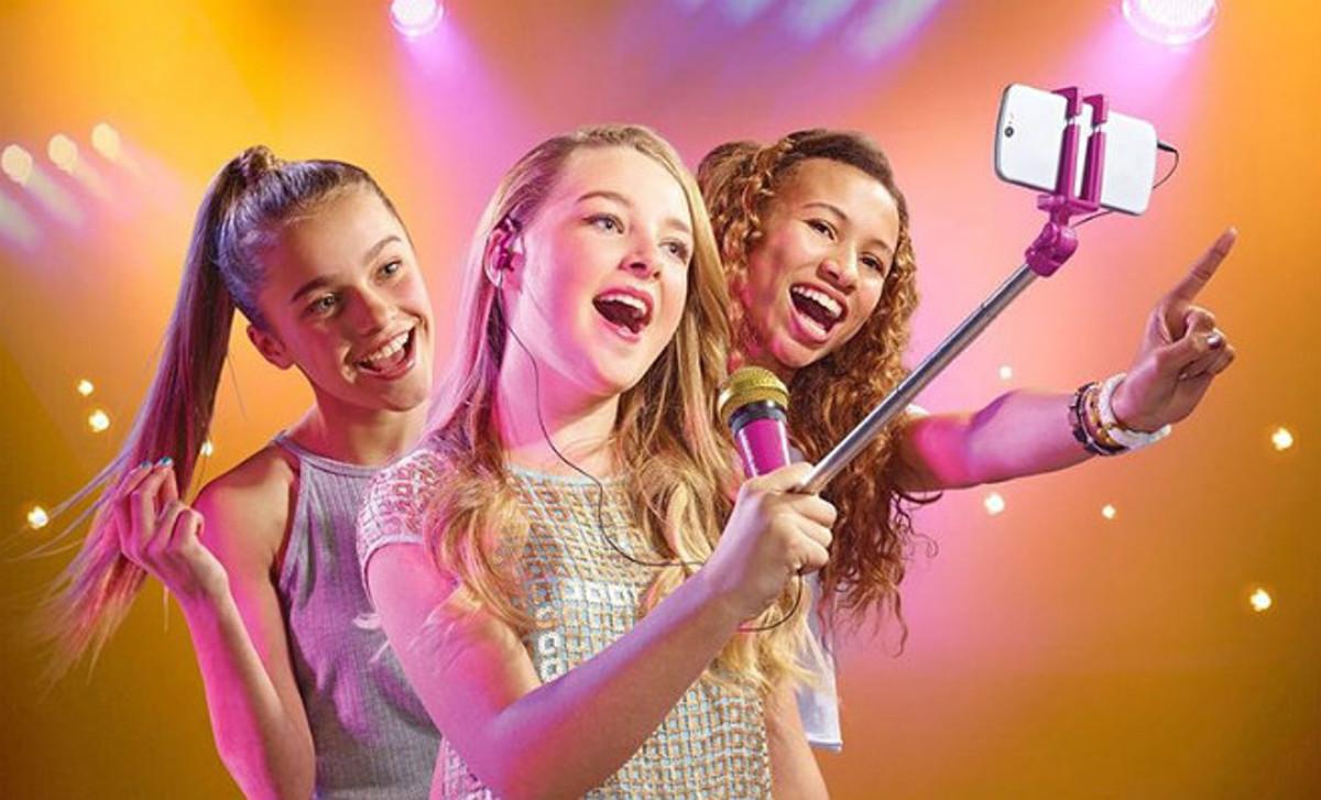 Selfie, para grabar tu propio videoclip.
