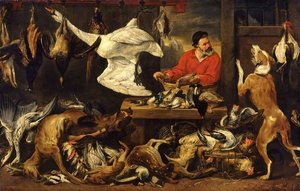 Snyders, Frans; The Fowl Market; The Fitzwilliam Museum; http://www.artuk.org/artworks/the-fowl-market-5120