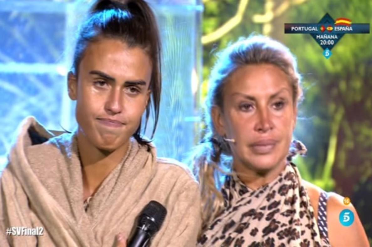 Una fugaz prueba de apnea y el reencuentro de Sofía con su madre, entre los momentazos de la final de 'Supervivientes'