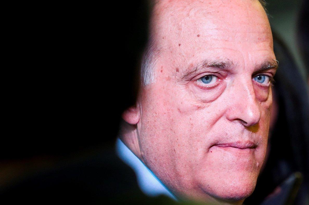 Javier Tebas, el presidente de LaLiga.