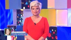 La llamada de Toñi Moreno a Terelu Campos en su regreso a Telemadrid como presentadora