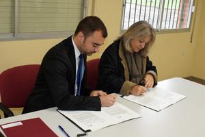 Terrassa y Sant Quirze firman un convenio para mejorar juntos el barrio de Les Fonts