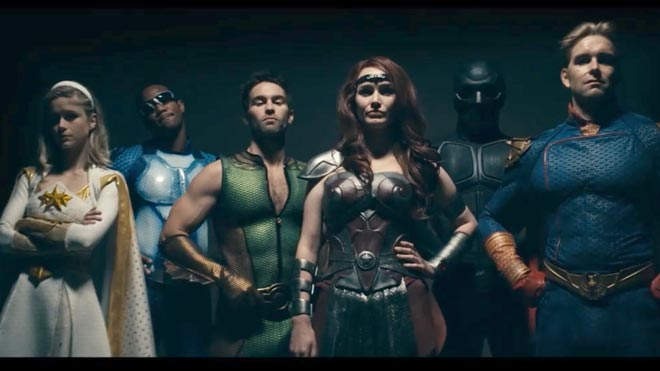 Els anti-superherois de 'The Boys' arriben a Amazon