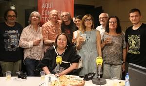 Los participantes en el especial de 'Todo es comedia' en homenaje a Sisa.