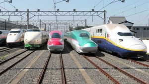 Trenes en Japón.