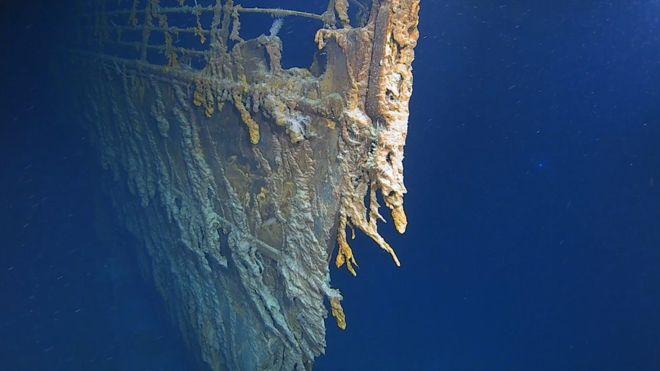 Una expedición internacional liderada por Victor Vescovo ha obtenido nuevas imágenes en 4K del 'Titanic'.