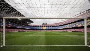 Una imagen del Camp Nou.