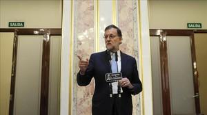Rajoy agafa impuls amb el pacte de C's i l'acostament dels nacionalistes