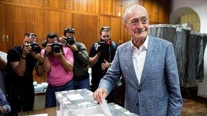 El alcalde de Málaga el pasado 26 de mayo.