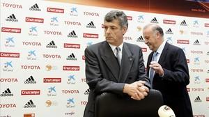 Villar no nomena el substitut de Del Bosque