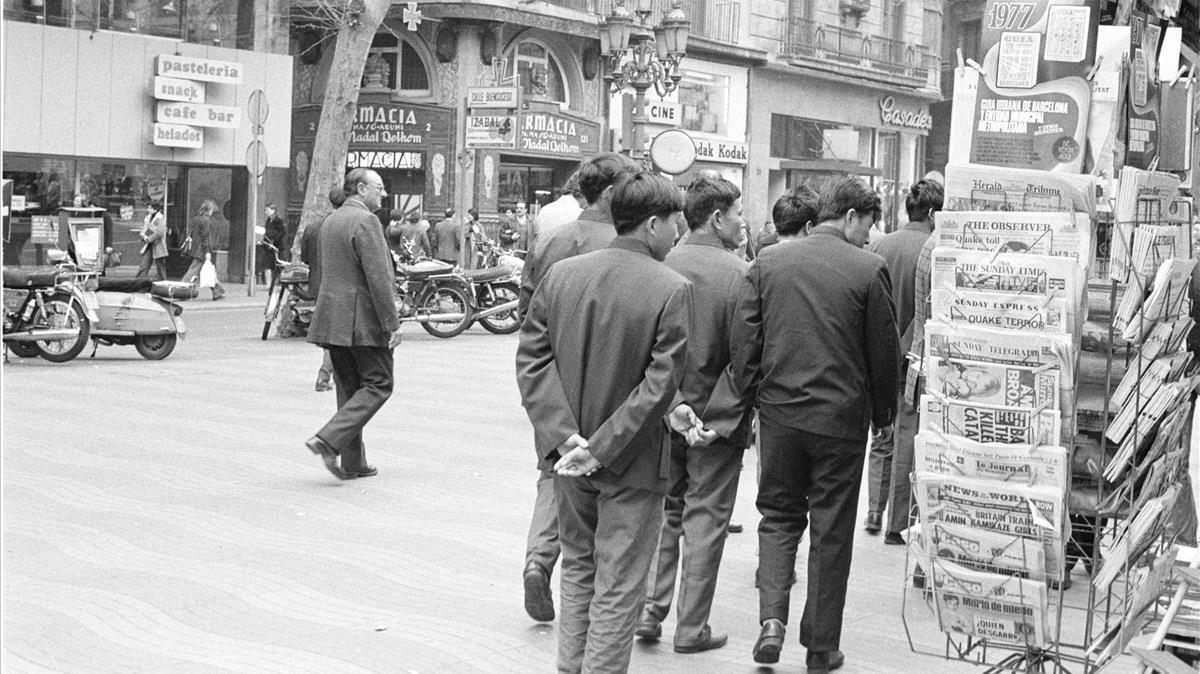 La lectura peligrosa de Barcelona