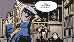 Viñeta de 'Equatoria', la nueva aventura de Corto Maltés firmada por Díaz Canales y Pellejero.