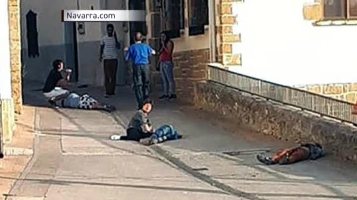 Tres morts en un tiroteig entre famílies a Navarra
