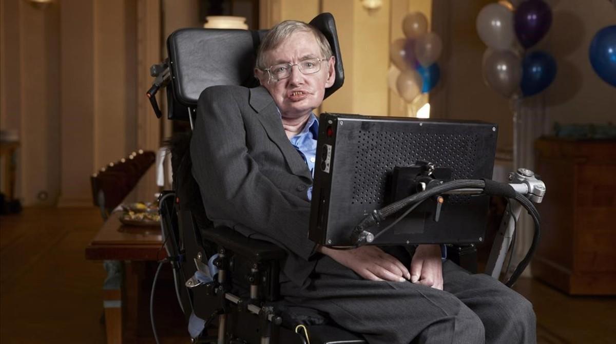 Stephen Hawking cumple 75 años