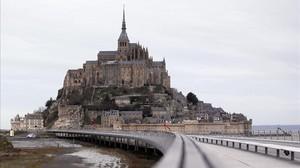 El Mont Saint-Michel, evacuat per les amenaces d'un individu a la policia