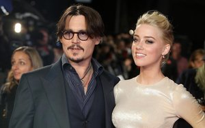 Johnny Depp y Amber Heard, en el 2016.
