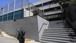 Centro de menores de Can Llupià, en Barcelona.