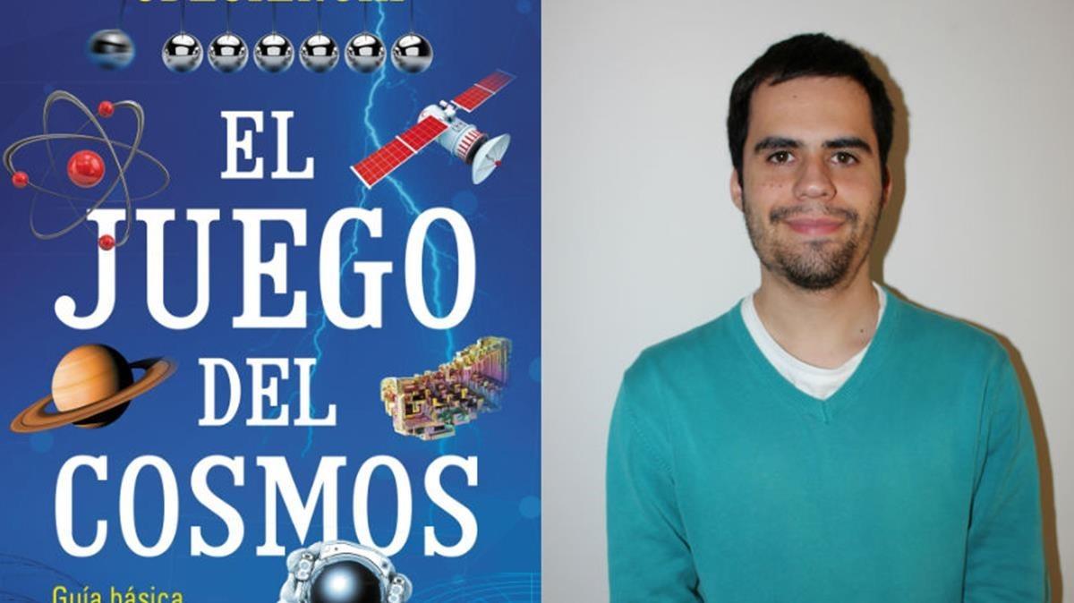El estudiante de geología yyoutuberMartí Montferrer, autor de El juego del cosmos (Martínez Roca, 2018)
