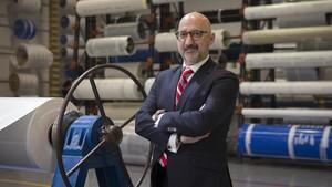 Eduard Balaguer, directivo de la empresa Ammeraal Beltech.