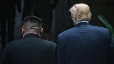Trump va fer bo a Kim