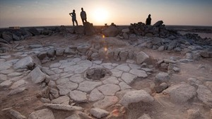 Enclave arqueológico donde se han localizado los restos de pan.