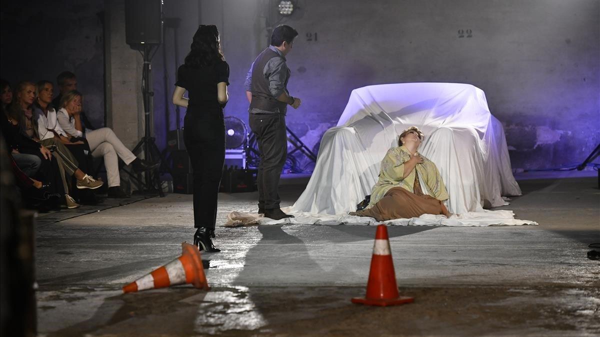 'La bohème': òpera en una nau industrial