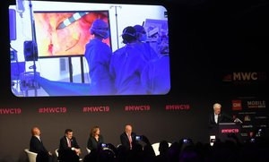 El Mobile World Congress asiste a la primera operación teleasistida con 5G
