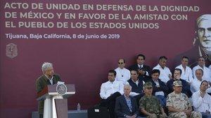 """López Obrador recorda a Trump que els pactes """"es compleixen"""""""