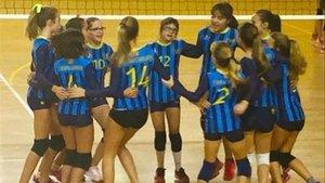 Laia, la nena amb síndrome de Down, jugarà la Copa d'Espanya de vòlei