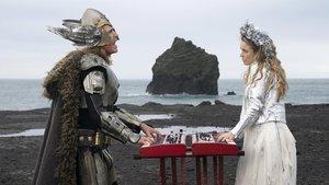 Unos volcánicos Will Ferrell y Rachel McAdams en 'Eurovisión: La historia de Fire Saga'.