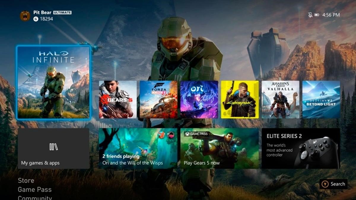 New Xbox Experience: tots els detalls de la interfície única per a Xbox One i Series X