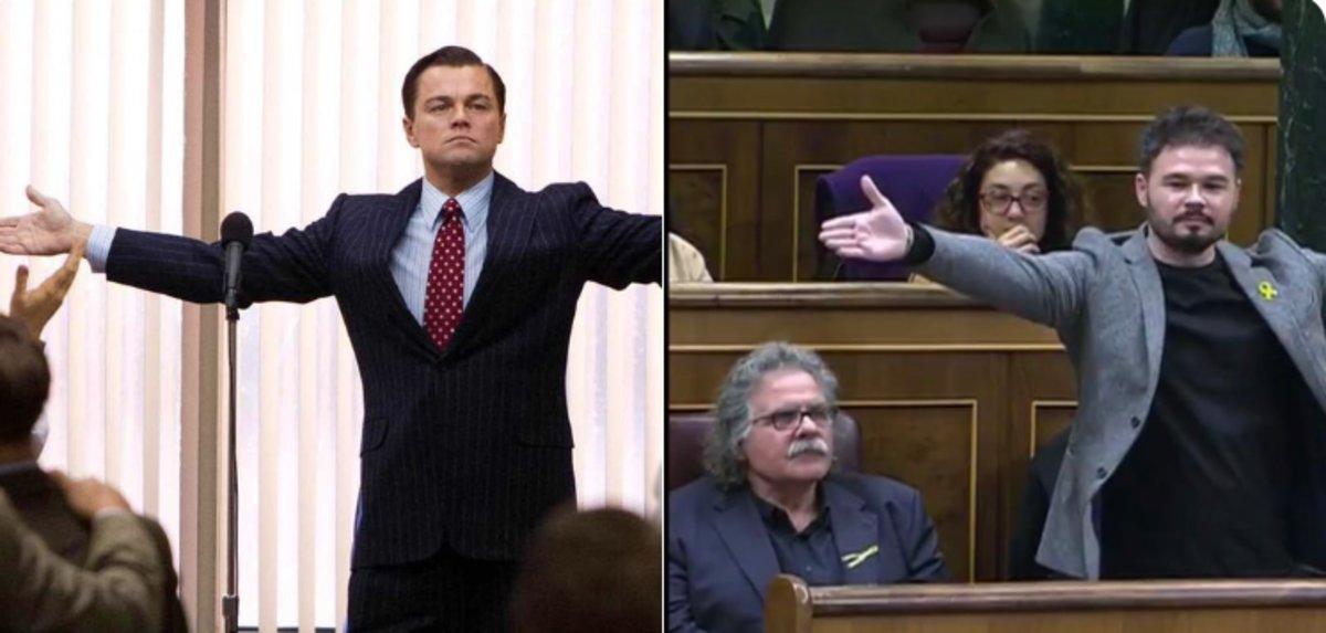 Los memes de Gabriel Rufian tras su rifirrafe con Borrell.
