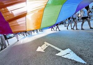 Manifestación reivindicativa del orgullo gay celebrada en junio en Barcelona.