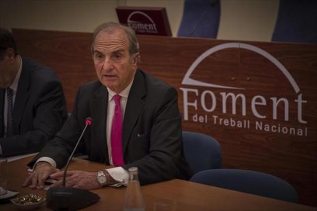 Joaquim Gay de Montellà 8 El presidente de Foment defiende el pragmátismo político.