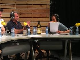 Joan Laporta, durante su intervención en el programa radiofónico La Sotana.