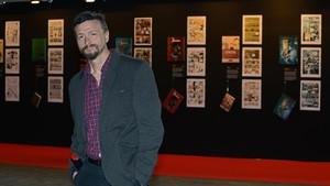 El dibujante Ralf König, en el Salón del Cómic del 2013.