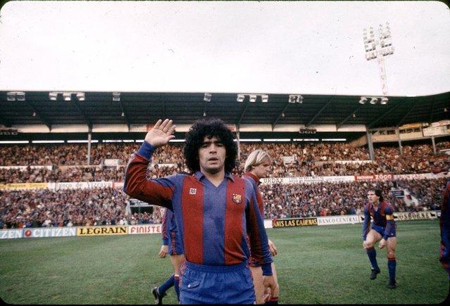 Maradona y los muertos
