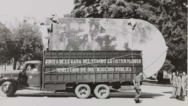 1936-1939. Salvar el Museo del Prado.