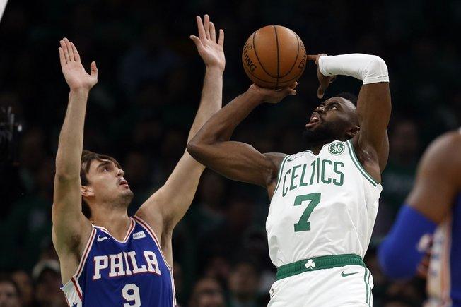 Los Celtics siempre estuvieron siempre por delante en el marcador.