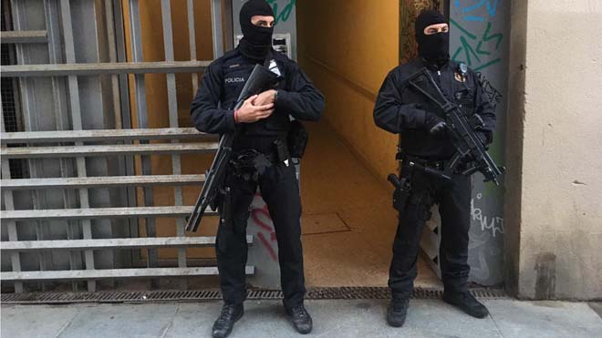 Presó incondicional per a tres dels gihadistes detinguts a Barcelona