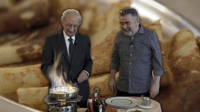 Aprèn a preparar les creps magistrals de Via Veneto