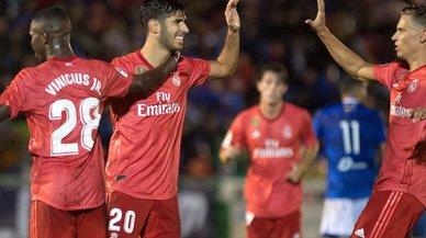 Victoria sin alardes del Madrid en Melilla (0-4)