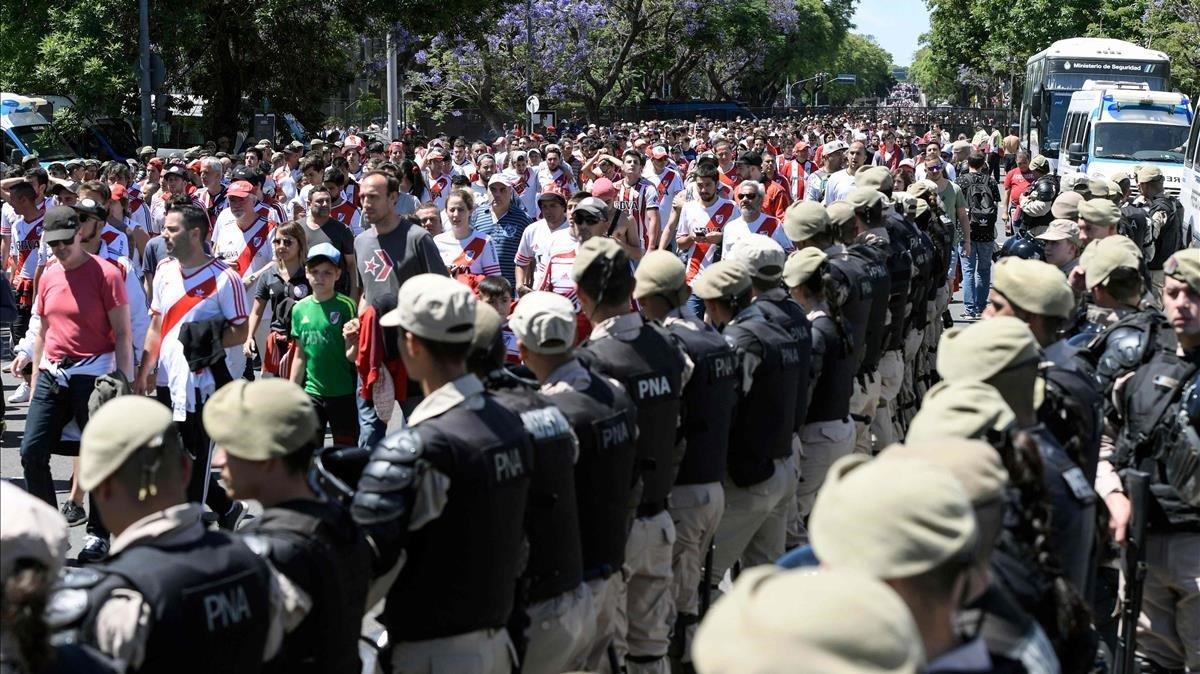 Uns 2.000 policies es desplegaran al River-Boca