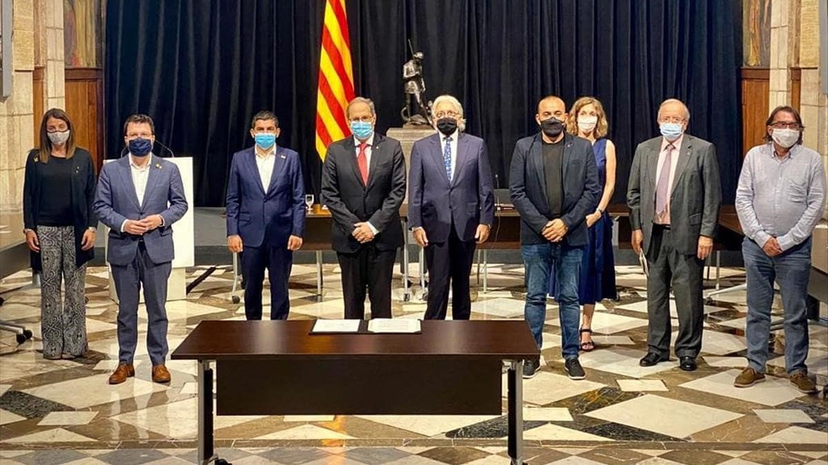 Catalunya consensúa las bases para la recuperación económica